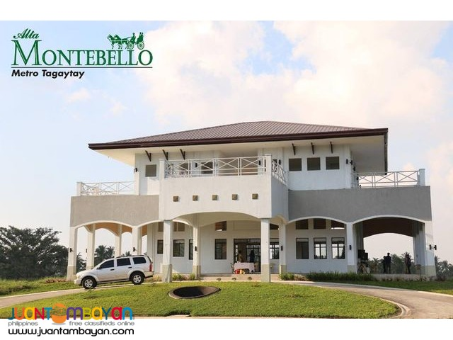 Alta Montebello Tagaytay Lots For Sale near Twin Lakes