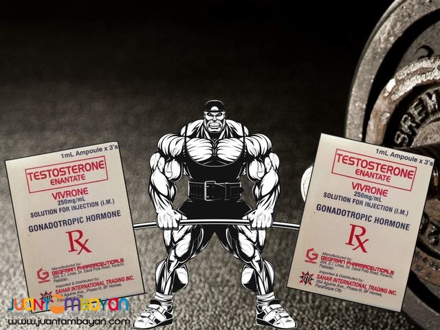 Premium Grade Testosterone Etantate (1,000 php for 3 pcs)