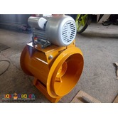 Exhaust Motor and Fresh Air Motor and Ducting