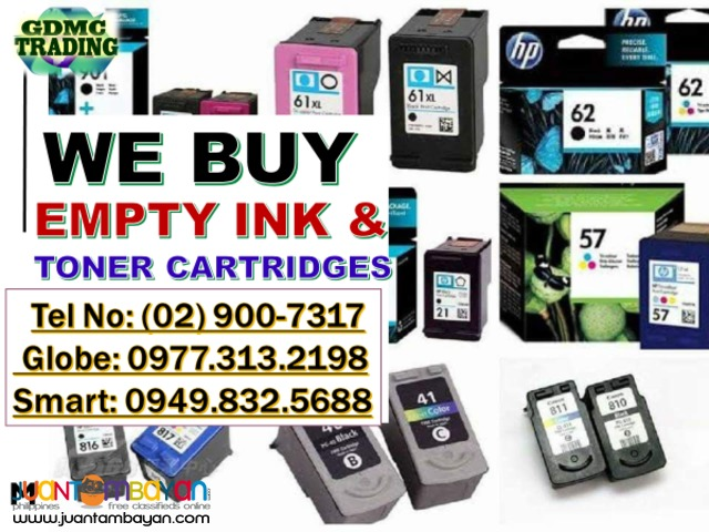 HIGHEST BUYING PRICE OF EXPIRED AND EMPTY INK CARTRIDGES