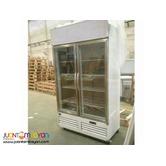 2 Door Upright Display Freezer