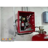 Installation of Fire Suppression System