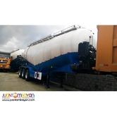Tri-Axle Bulk Cement 45m3 Tank Volume