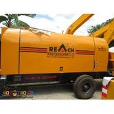 Portable Concrete Pump (60m-6floor high)
