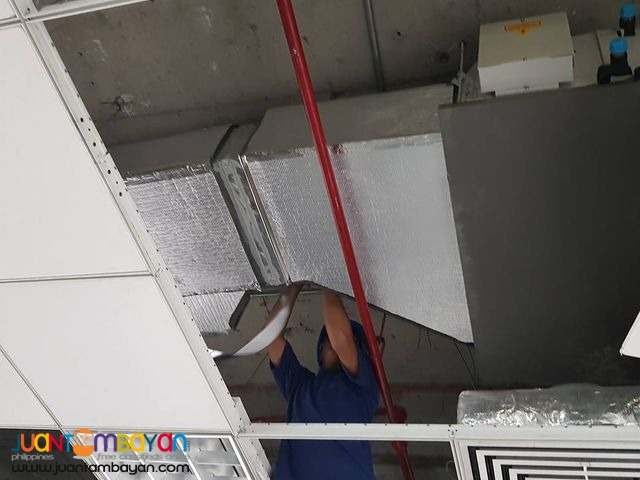 Ducting Works Spiral Duct Rectangular Duct Flexible Duct