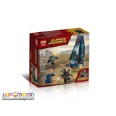 LEPIN™ 07104 Infinity War Outrider Dropship Attack
