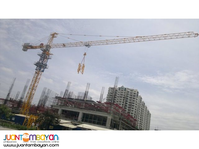 Tower Crane for Sales & Rental