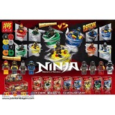 LELE™ 31137 Ninjago Masters of Spinjitzu 8in1 Minifigures Set