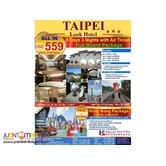 4D3N Taipei Full Board Package