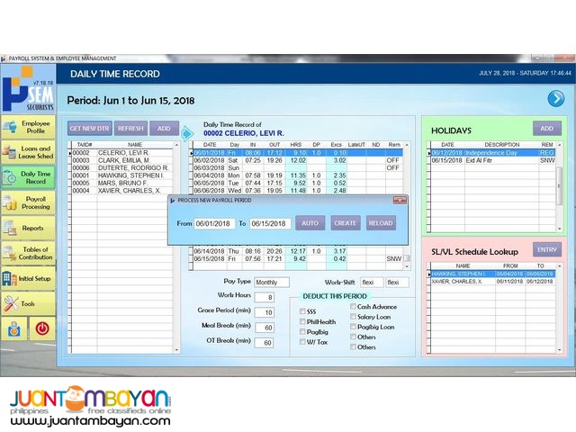 Simple Payroll Software and System