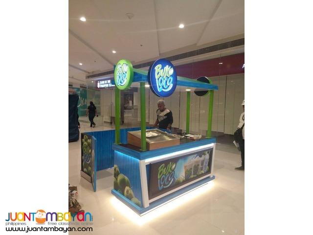Mall Kiosk Maker, Mall Cart Maker, Booth Stall Maker