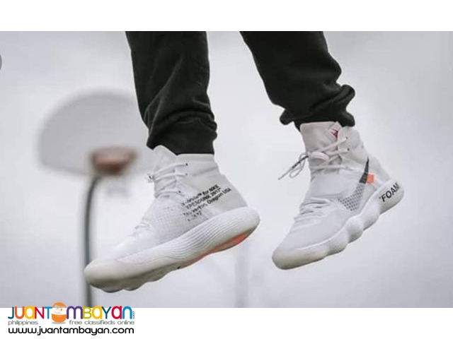 58c3f75b2 Nike React Hyperdunk 2017 Flyknit Off-White - BASKETBALL SHOES ...