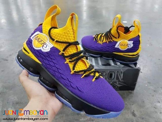 various colors 0eda8 d87e4 Nike LeBron 16 LAKERS BASKETBALL SHOES