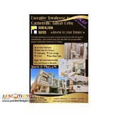 Executive Townhouse in Carmenville Talisay City very near SRP