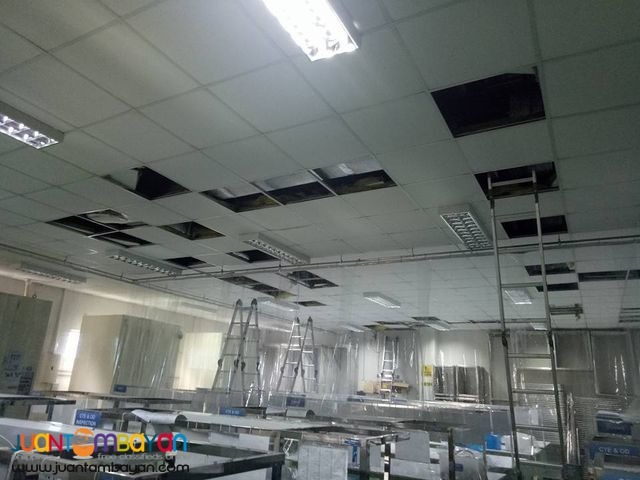 Supply and Installation of Chilled Water Fan Coil Unit