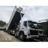 Brand new low price! Sinotruk Howo A7 8x4 Dump Truck 12Wheeler