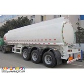 `  Tri-Axle 30KL Carbon Steel Fuel Trailer ~