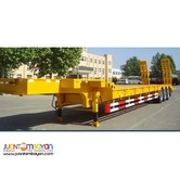 12 Wheeler Low-Bed Triple Axle Semi-Trailer