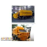 350L Hopper Capacity Concrete Pump