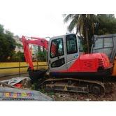 Jinggong JG608 Hydraulic Excavator Chain Type