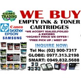 HIGHEST PRICE AND LEGIT BUYER OF EMPTY INK AND TONER CARTRIDGES