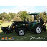 Euro 3 Farm Heavy Equipment with Optional Attachments