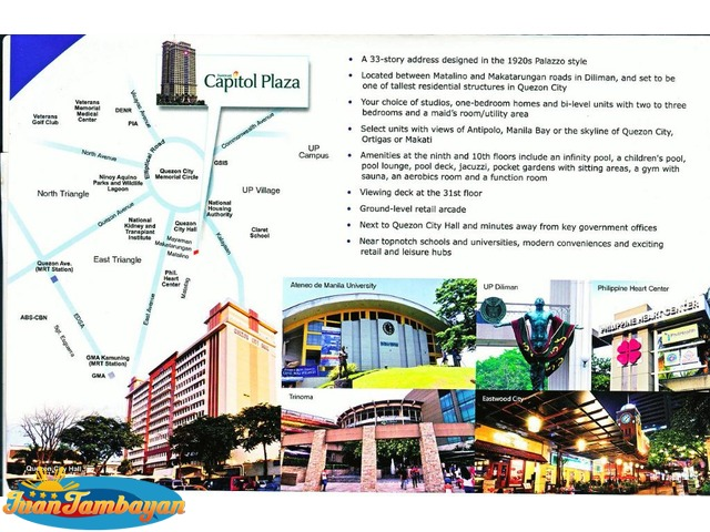 CAPITOL PLAZA Commercial Unit - Suntrust Project in Quezon City