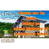 ONE CENON PLACE Townhouse Complete and Along highway