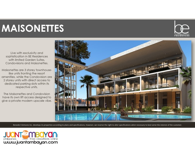 Condo Units in Cebu's first Resort Oasis Residential Living