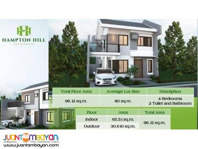 4BR Single Attached House in Hampton Hill Consolacion Cebu