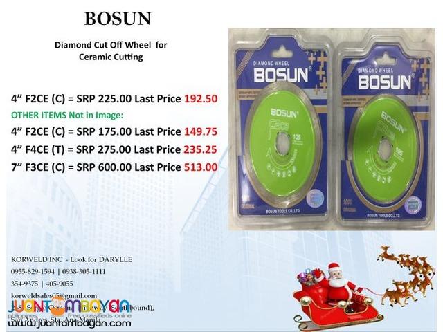 BOSUN Daimond Cut Off Wheel for Ceramic Cutting
