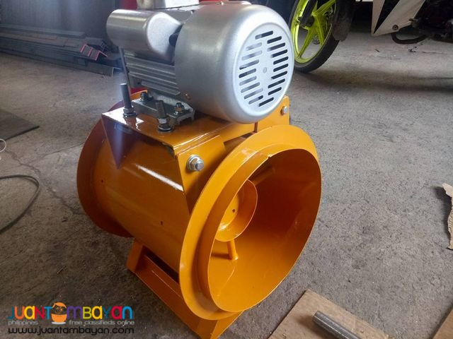 Exhaust Blower and Fresh Air Blower