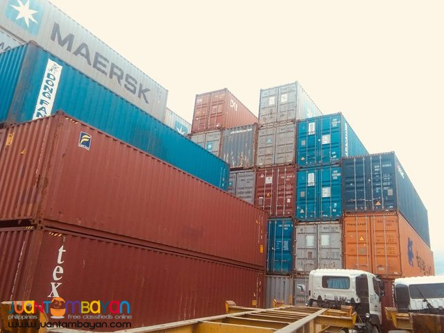 Container Van 40'ft for sale