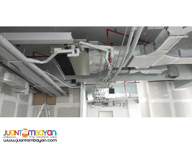 Ducting Works and Fire Sprinkler