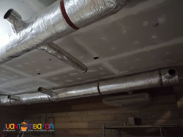 Exhaust Duct Return Duct Supply and Installation