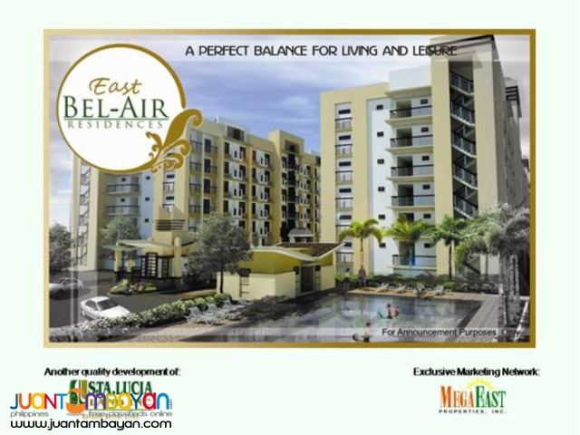 East Bel-Air Residences Ready for Occupancy Condo with balcony
