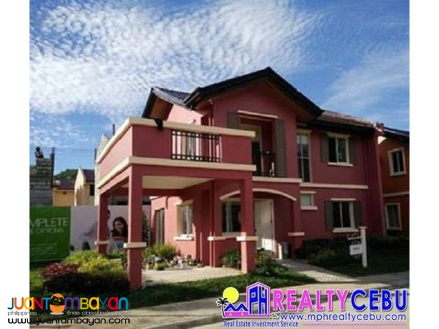 Freya Model-4BR 142m² House at Camella Riverdale Talamban