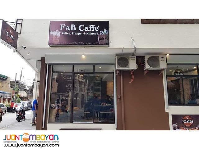 Coffee Shop Milk Tea & Frappe' Franchise Business