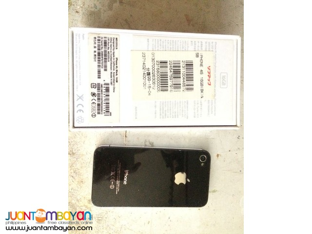 iPhone 4s 16GB tempered and screen protected
