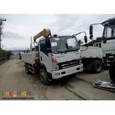 6 Wheeler Boom Truck 3.2tons  130HP Euro 4