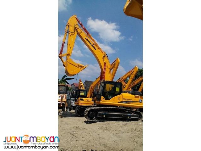 CDM6365 Lonking Hydraulic Excavator / Backhoe 1.6cbm Bucket Size
