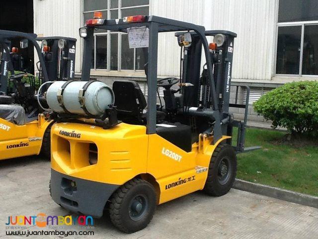LG20DT Lonking Diesel Forklift 2Tons