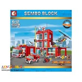 SEMBO™ 603037 City Fire Frontline Fire Station