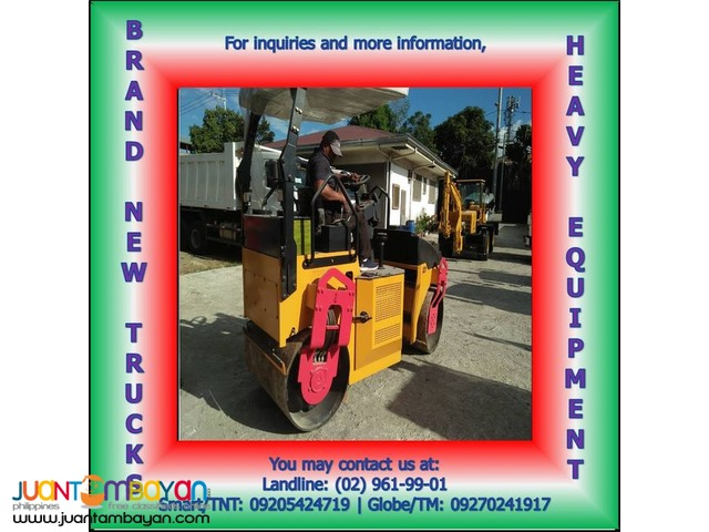 Brand New Unit! GY-D031 Road Roller 4 Tons