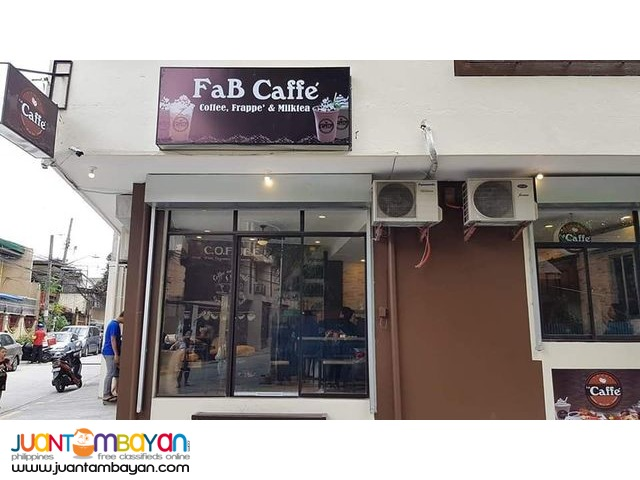 Fab caffe franchise 499,000 ONLY