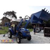Farm Tractor Backhoe Loader
