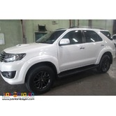 CAR RENTAL (TOYOTA FORTUNER)