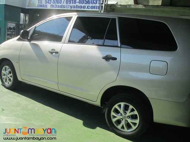Toyota Innova for Rent at Lowest Price!  Call/Text: 09989632040