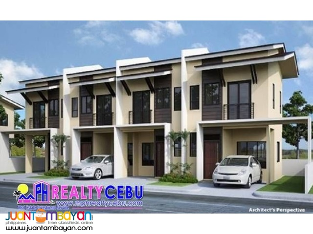 47m² 2BR Townhouse at Serenis South Subd Talisay City Cebu