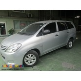 AUV TOYOTA INNOVA FOR RENT